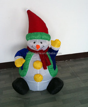 Pretty small inflatable s christmas snowman