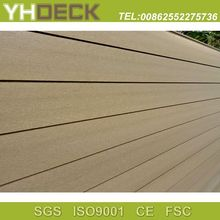 Wood plastic composite wall panel wpc cladding for house decoration
