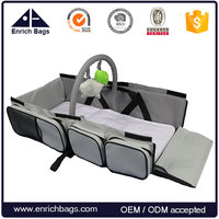Enrich Multi-purpose baby Diaper Bag Infant Carry cot Travel Bassinet