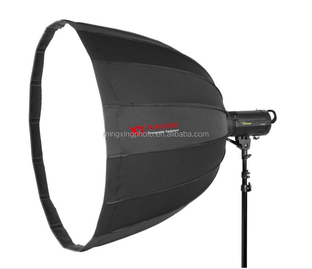 16 rod 90cm quick assembly deep parabolic softbox with bowens mount