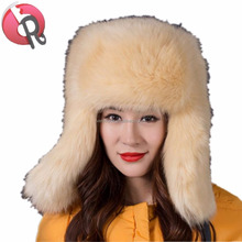 Winter Faux Fur Hunting Hat Unisex Trapper Russian Aviator Trooper Hat eskimo hat