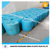 0.04mm hot sale blue pe film for packing