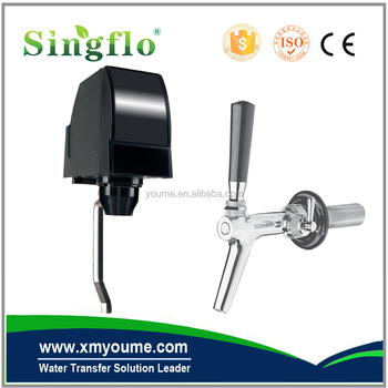 Singflo Replacement for Beverage Dispenser Stainless Steel Press and Hold Spring Valve