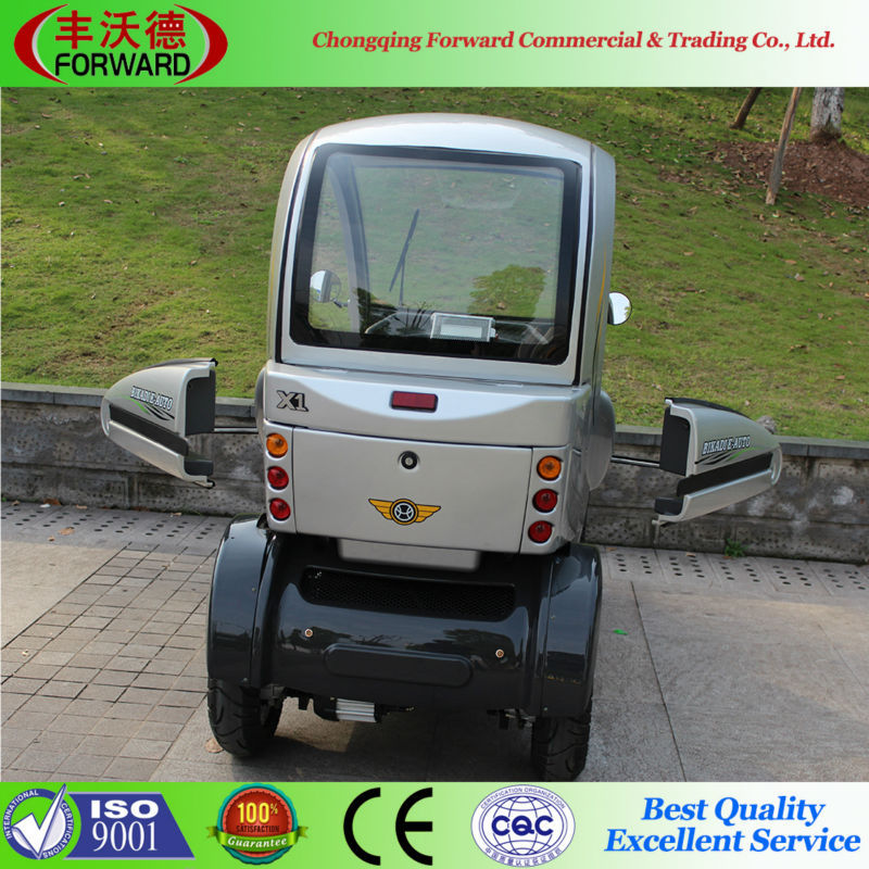 4 Wheels Mobility Scooter Electric Tricycle For Passenger