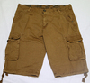 in stock garment dye mens cargo shorts with belt for men