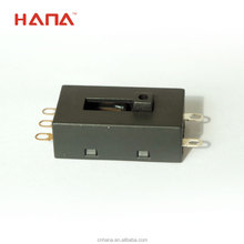 HANA 250V 10A micro and slide switches