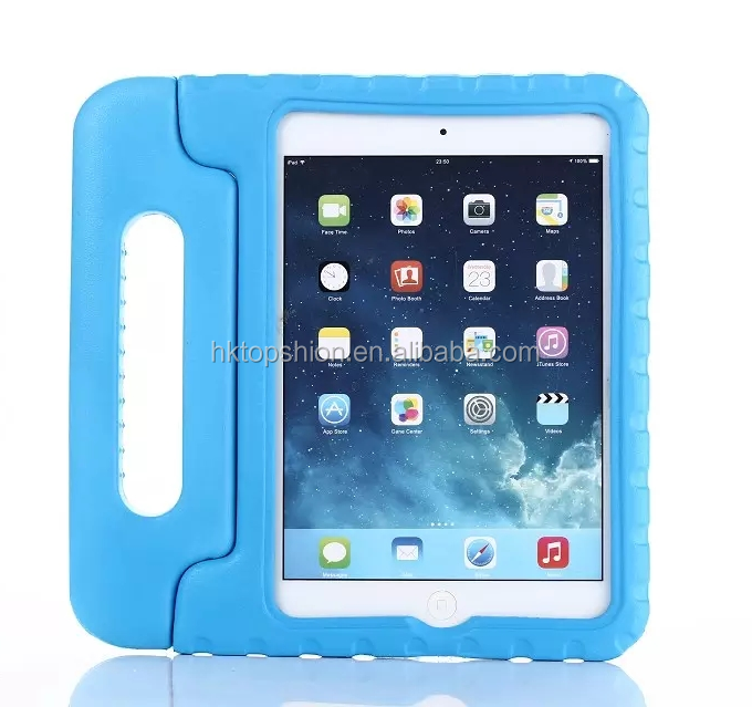 New For Apple iPad Mini 4 Shockproof Case Light Weight Kids Case Super Protective Cover Handle Stand Tablet EVA Case for Kids