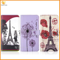 for LG Q10 flip pu+tpu wallet leather case