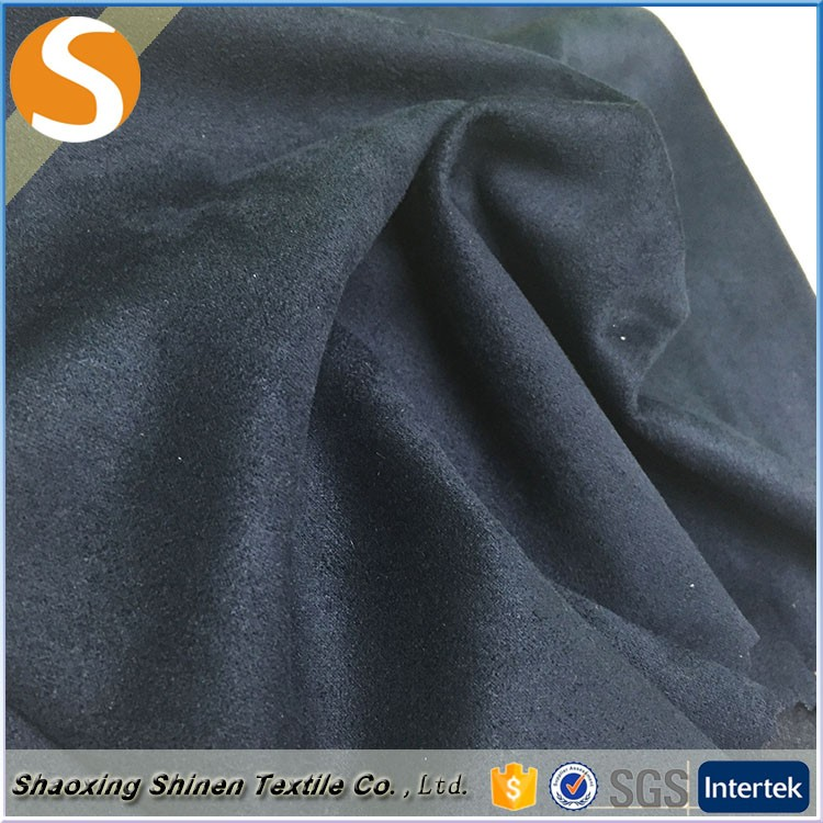 Popular design top quality100%polyester stretch micro suede fabric