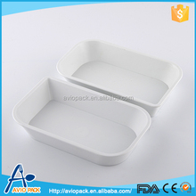 Best products microwaveable CPET plastic food compartment tray