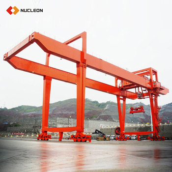 china rail mounted full span gantry crane