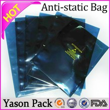 Yason Anti-static Shielding Bag anti-static vacuums with bags High Quality Anti-static Pe Bag
