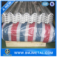 Building Material Roof Panel Aluminum Corrugated Sheet
