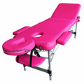portable hot sell aluminum facial bed for massage
