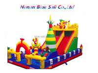 Kids Play Game Soft Naughty Inflatable Castle for Sale Castle Jumping /Castle