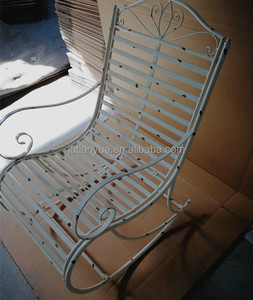 outdoor metal rocking chair metal garden chair
