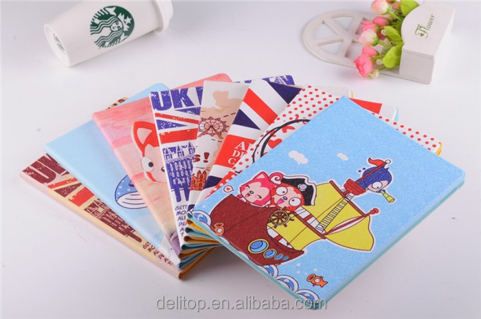 Cute Cartoon Printed Anti-slip Ultra Slim Stand Full Protective Painting Case Cover For Apple iPad Air / iPad 6/ iPad 2 3 4