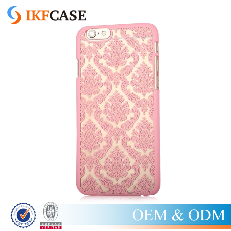 Phone Case for Apple iPhone 6 6S Vintage Flower Pattern Fashion Luxury Phone Back Cover Case