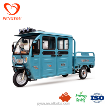 Newest Electric Three Wheelers Auto Rickshaw Tricycles/High Quality Tuk Tuk for Cargo and Passenger