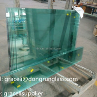 Alibaba Float Transparent Tempered Glass For
