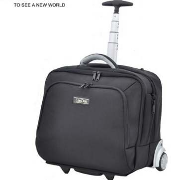 High Capacity Laptop Bag Laptop Luggage With Wheel Trolley For Business