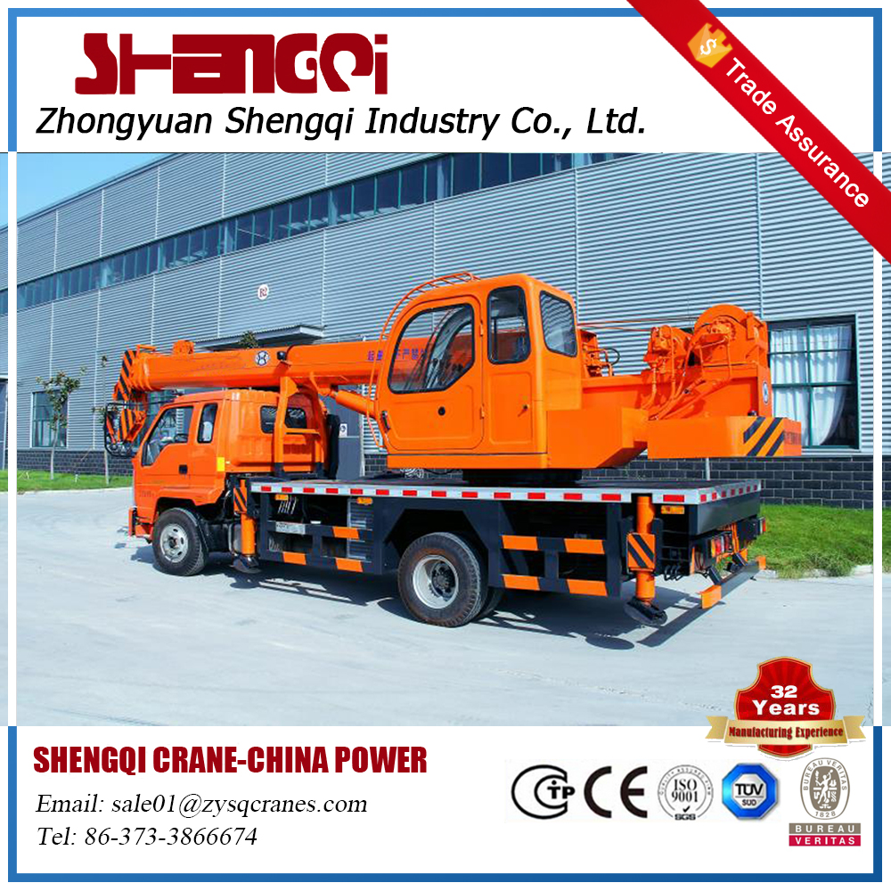 China Truck Mounted Crane For Sale