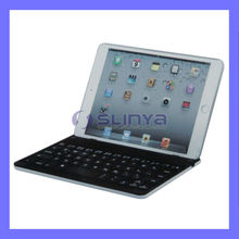 LED Lamp Hard Shell Bluetooth Backlit Keyboard For iPad Mini