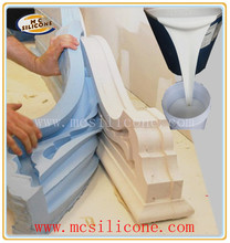Liquid molding silicon for gypsum crafts/high duplication times/easy demold/ best price