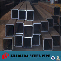 building materials ! green house 1 inch rectangular steel pipe 50*50 weight ms square pipe