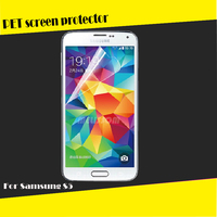 Factory wholesale PET high clear screen guard for Samsung Galaxy S5 i9600 OEM/ODM