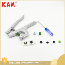 KAM factory wholesale garment button small size metal kam hand press