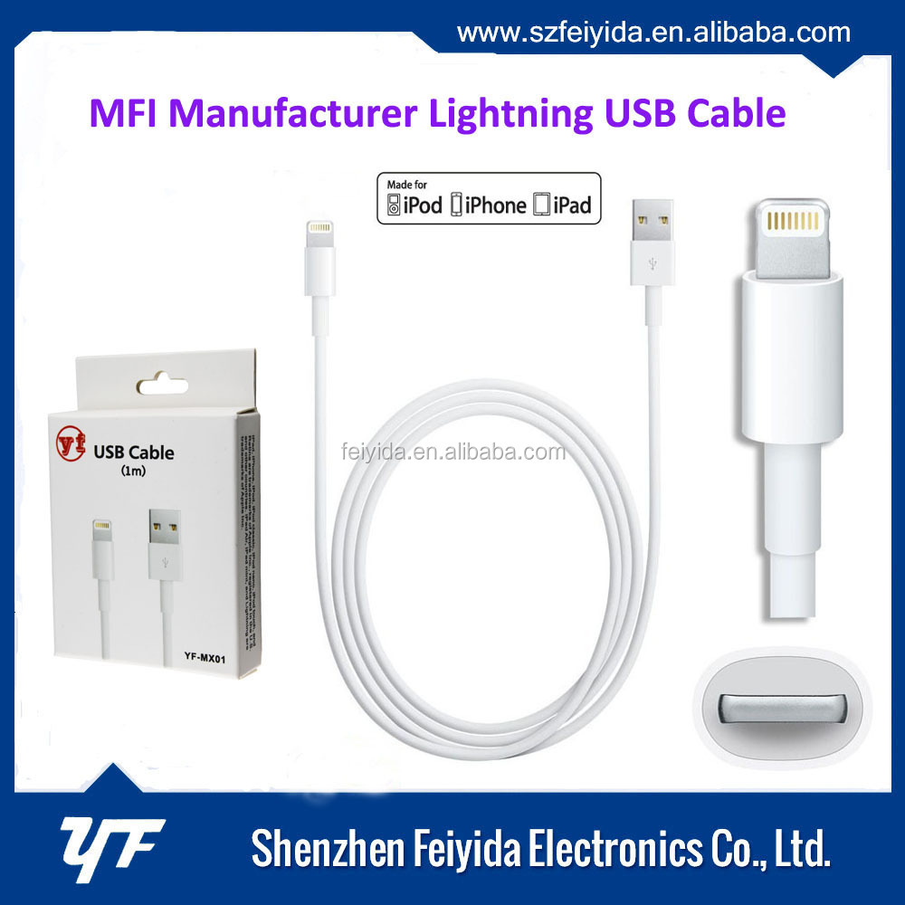 best selling products in China mfi cable for iphone 6 charger cable