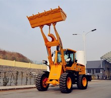 china 2200kg payloader machine