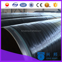 carbon steel oil pipes coating with 3 layer pe and anti-corrosion with epoxy powder