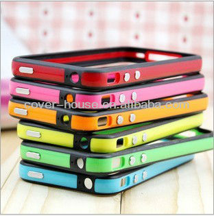 New Arrival Silicone bumper case for iPhone 4 4S