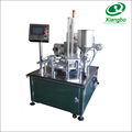 Low price turntable type cup filling sealing machine