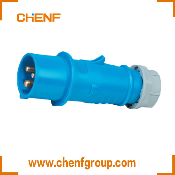 CHENF EN/IEC 60309-2 32A 3P IP44 230V Industrial Electrical Dust Proof Plug