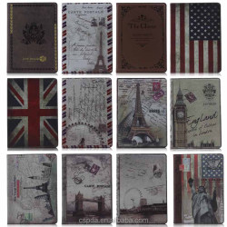 Classical British Style Tablet Protector Leather Case New Moon for iPad Air Case