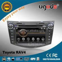 Wince 6.0 Car DVD Player for Toyota RAV 4 with Bluetooth GPS Radio