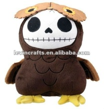 brown owl hootie furry bones collectible plush doll