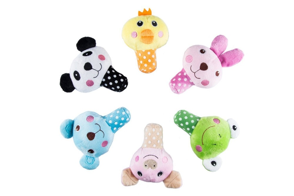 Competitive price squeaky animal plush toys pets for christmas