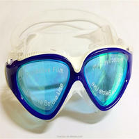 Antifog Waterproof Diving mask eyeglass frame Swimming Goggles for adult