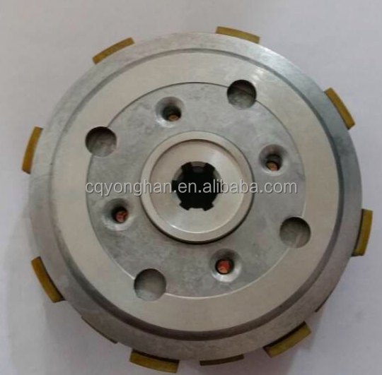 OEM motorcycle clutch BAJAJ BOXER BM150, BM150 clutch comp for motorcycle, clutch with housing