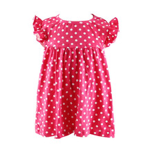 bulk wholesale girls boutique dresses 7-16 images new fashion kids cotton frock designs pictures hot sale party dress kids