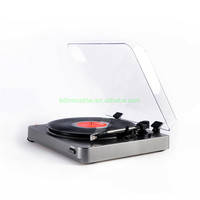 High Quality Vinyl Turntable Player DJ Vintage Player with Bluetooth turntable record