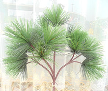 Artificial evergreen plastic pine branches pine leaves for pine tree