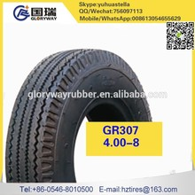 4.00-8 hig quality airless motorcycle tube and tire for sale 4.00-8