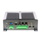 Cheap Intel Atom D2550 Fanless Industrial Mini PC With PCIE Slot