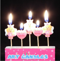 Wholesale birthday cake decorative candle