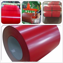 Corrugated Raw Material PPGI/PPGL high quality prepainted galvanized steel coil/wholesale corrugated metal roofing sheet